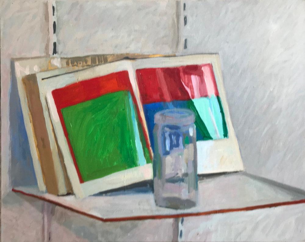 ELLSWORTH KELLY WITH GLASS