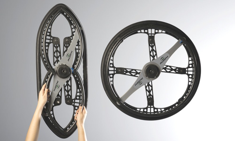 Morph Folding Wheel - Morph Wheels - Folding wheels - Wheelchair wheels - Award winning design.jpg