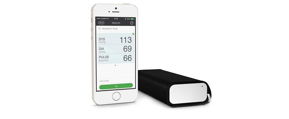QardioArm wireless blood pressure monitor - award winning healthcare design.jpg