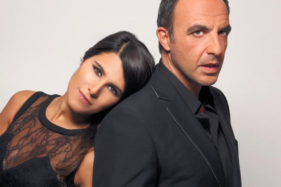 Karine Ferri et Nikos Aliagas / © TF1