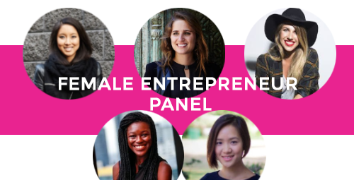 SPECIAL FEATURE - FEMALE ENTREPRENEUR PANEL of upcoming young female entrepreneurs taking on the world. Sarah Holloway - Matcha Maiden Sheree Rubenstein - One Roof Women Katie Fissenden - Stevie K Cosmetics Sarah Agboola & Ting Choong - m-Time