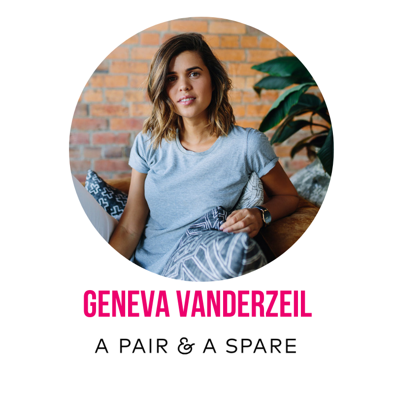 Geneva Vanderzeil is the founder of A Pair & A Spare, a website and creative studio. Started in 2010 as a place for stylish DIYs and How-to tutorials, within a year A Pair & A Spare had been named one of the top Lifestyle Websites in the world by The Times UK, had attracted a huge community of creative followers, an Geneva had published a book based on her website. Since then she has worked with some of the biggest brands in the world to create unique content and written for major publications like Harper's BAZAAR and Vogue, and through her business and blogging advice, inspired others to create creative. After immersing herself in the world of digital content for over 5 years, in 2014 Geneva launched her creative studio, creating content, imagery and social strategy for brands, and where she works with her team to deliver on her love of creativity. Geneva splits her time between Hong Kong and Brisbane, but travels so much she feels like a nomad!