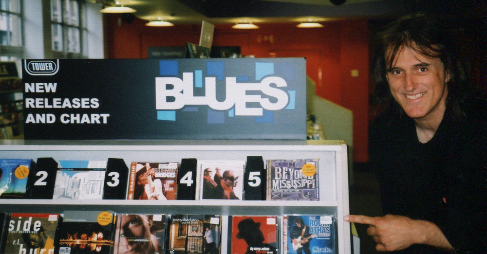 Tower Records, Times Square, NYC 2003