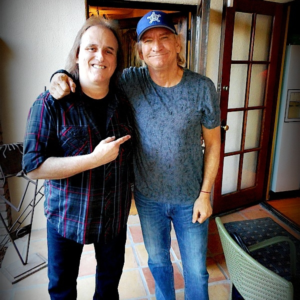 Recording with Joe Walsh