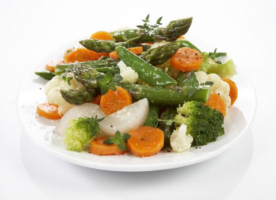 Kokte grønnsaker (foto:  frukt.no  )