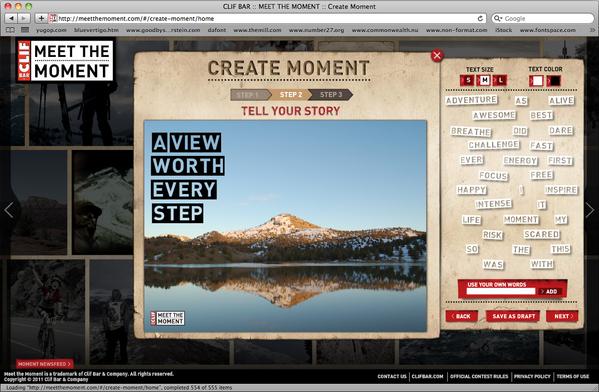 Create Moment