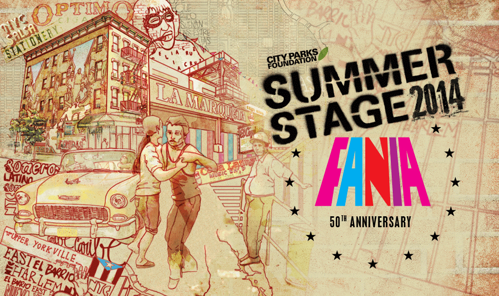 Key Art - Fania at SummerStage