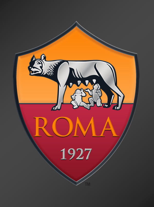 AS Roma On-Screen Logo