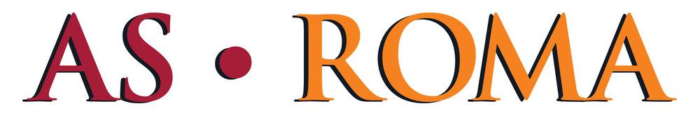 AS Roma Wordmark