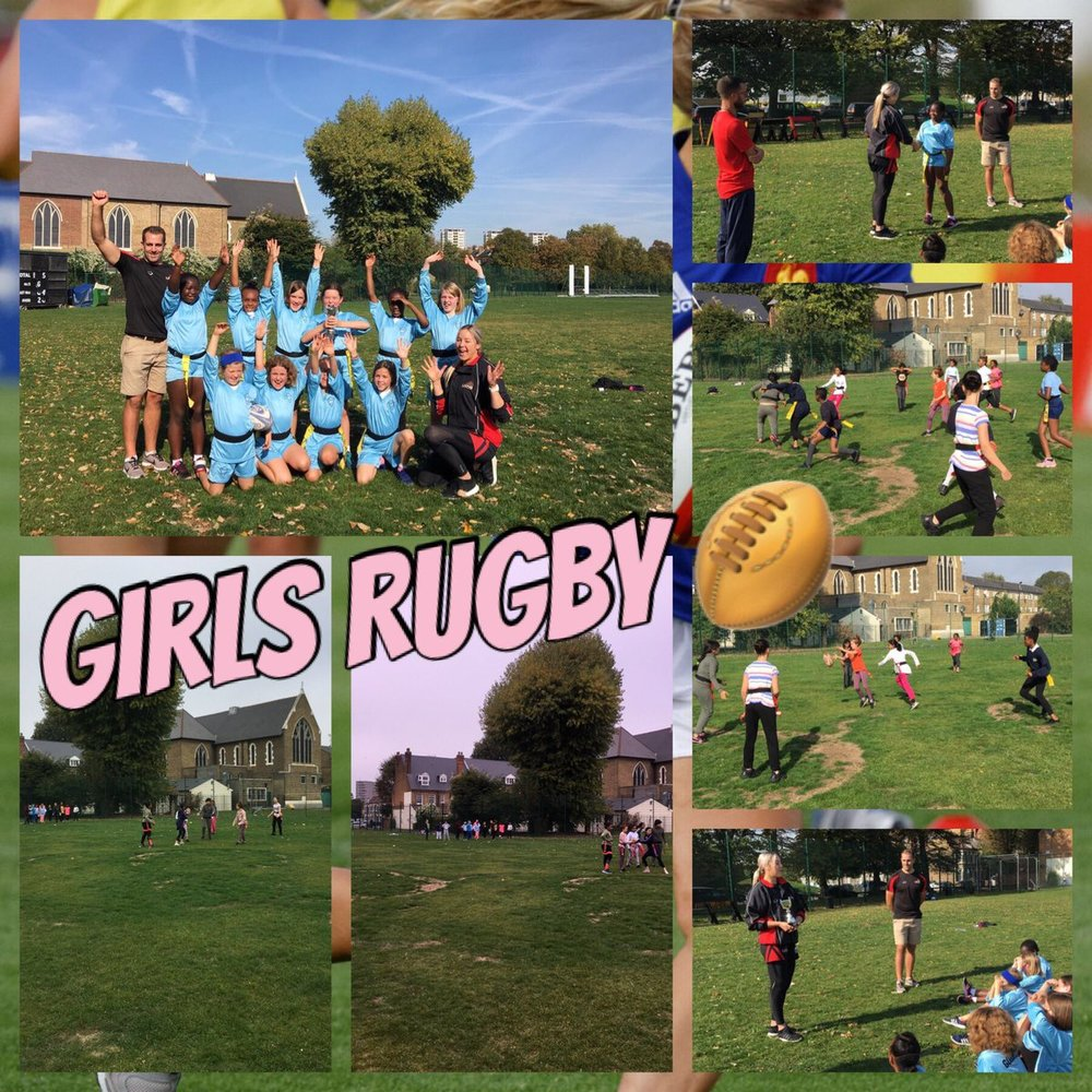 Well done! - On Friday saw us travelling to Burgess Park for the last competition of the week, Tag Rugby!
