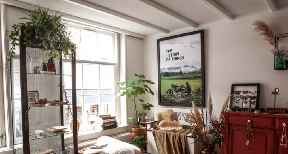 The apartment in the heart of amsterdam. Source: Scotch & Soda / AirBnB