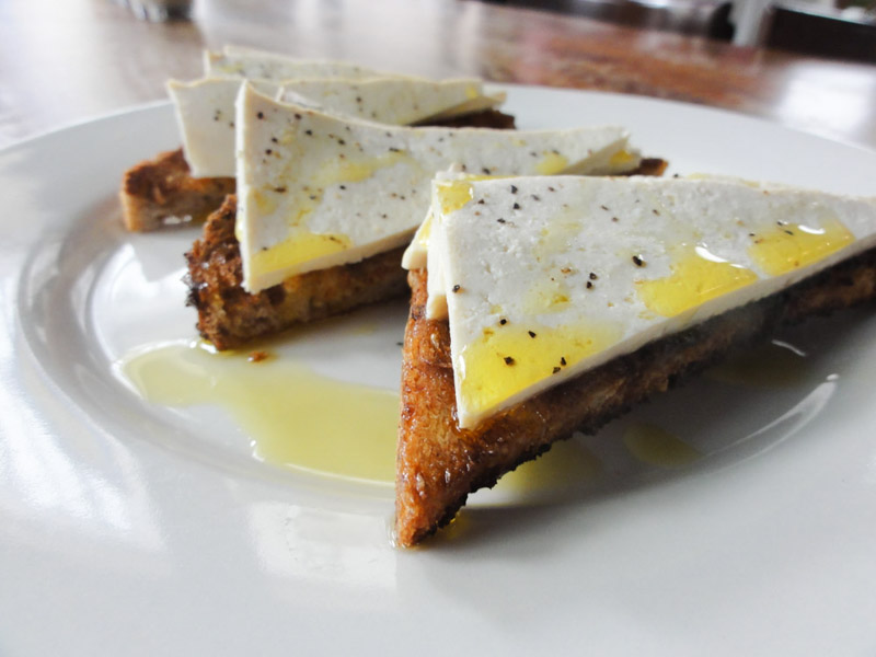 "Poached ""Eggs"" on Toast.  See the recipe here ! Photo by Jessica Sjoo."