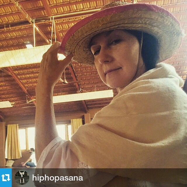 #Repost @hiphopasana ・・・ Sharonji keeping it cool.