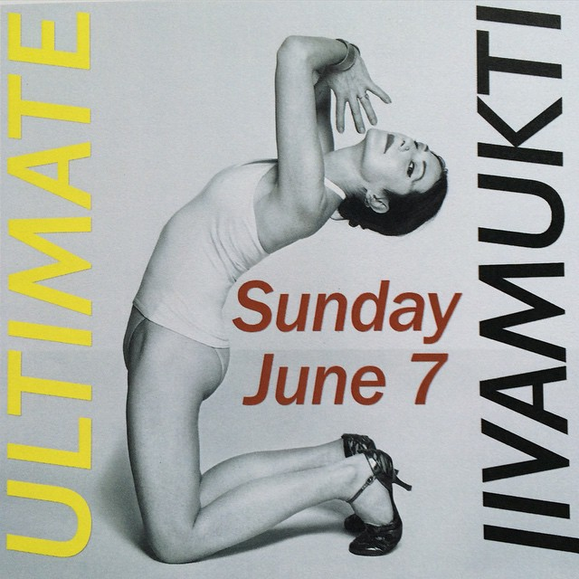This Sunday, June 7 @jivamuktiyoganyc from 1-3pm. Please join me for Class and a Satsang afterwards from 3pm - 3:30pm. May all Beings Be Happy and Free... #jivamuktinyc #yogi