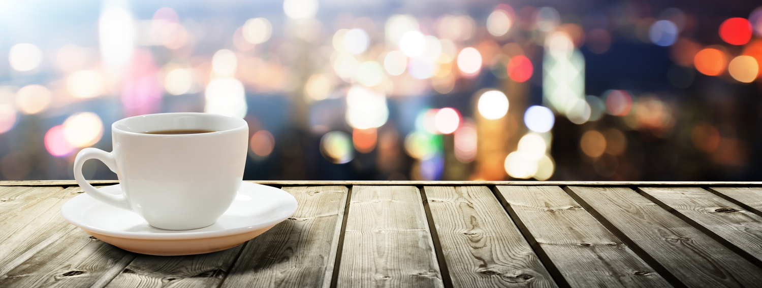 Contact joseph michael bigstock coffee on table in the night c geotapseo Gallery