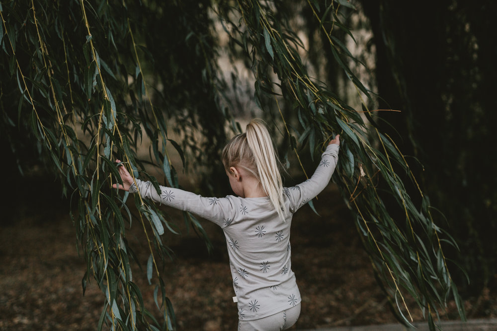 A self-appointed inspector of all things natural (pictured in our Thermal Long Johns). Photo by Jess Hunter.