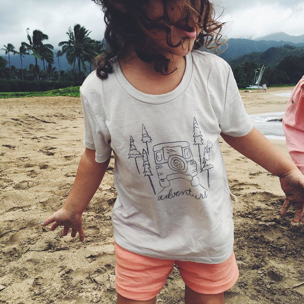 Summertime adventures await :) Photo by @prigragg // pictured in a  Merino Tee for Good .
