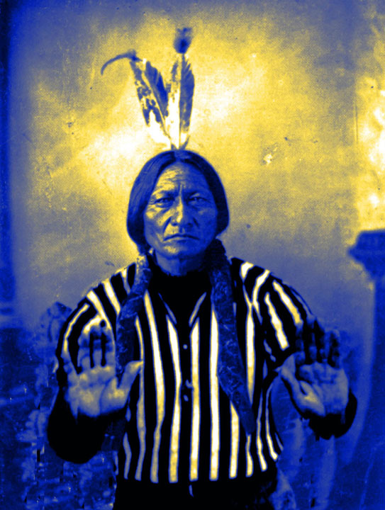 Sitting Bull Calls a Foul