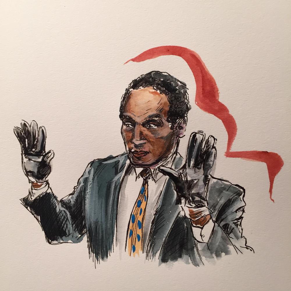 O.J. Simpson trial ('94 - '95)