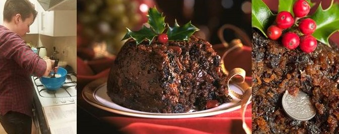 Stir-up a Christmas Pudding. Then wait.