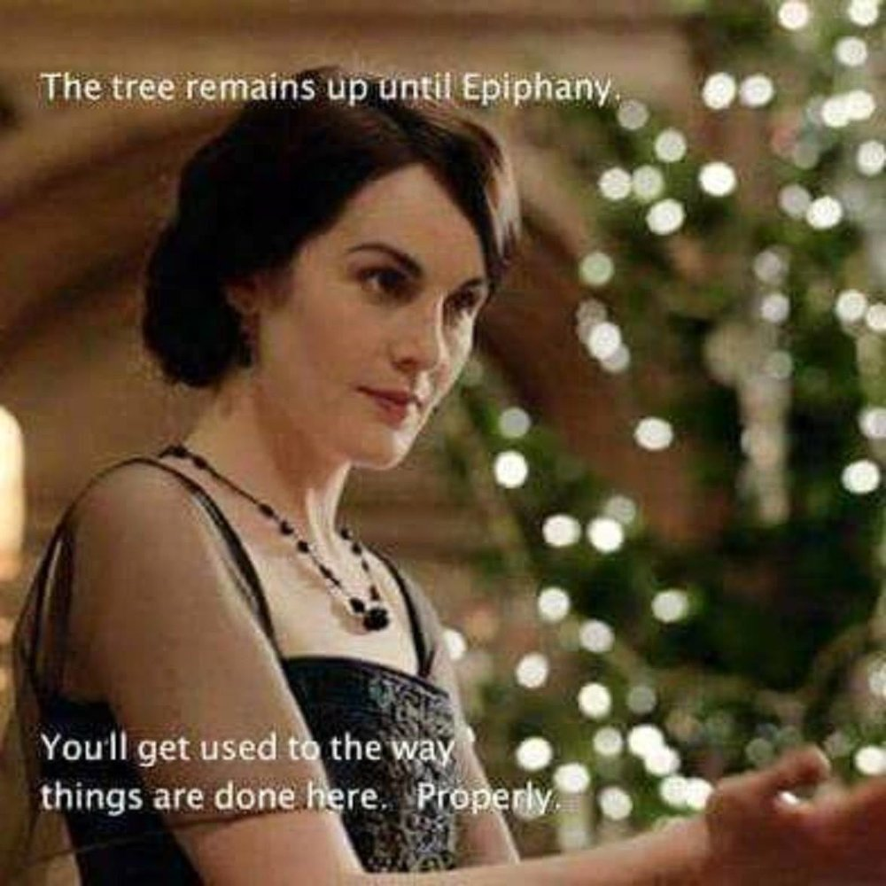 Better listen to Lady Mary! She knows what's up.