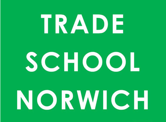 Trade School Norwich launched in 2013. Trade School is an open learning space that runs on barter. Anyone can teach something they are skilled at, or passionate about. Pay for class with a barter item (like food, supplies, or advice) that your teacher requests. Trade School Norwich wants to expand and offer lots more to people in Norwich, and have launched a crowd funding campaign to achieve this.  To be a part of this visit https://www.spacehive.com/trade-school-norwich or to find out more go to http://www.tradeschool.coop/norwich/ and join the mailing list.
