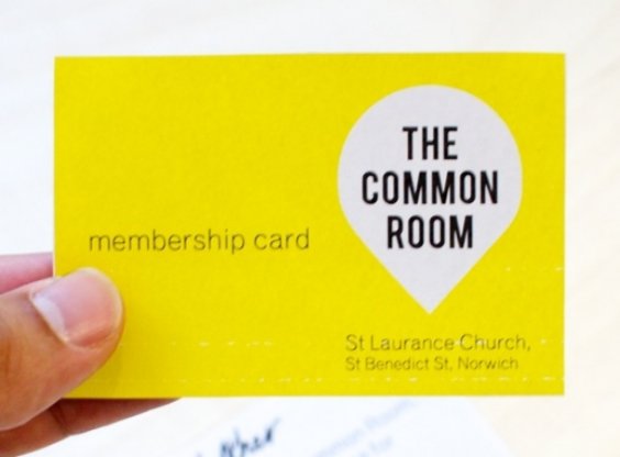 Membership is a new way of removing blocks to starting a new initiative. As a member you will have access to meeting up with other members to take part in or start up community projects or activities.  For more infomration about membership or booking space please email: thecommonroom.norwich@gmail.com Membership is currently free.