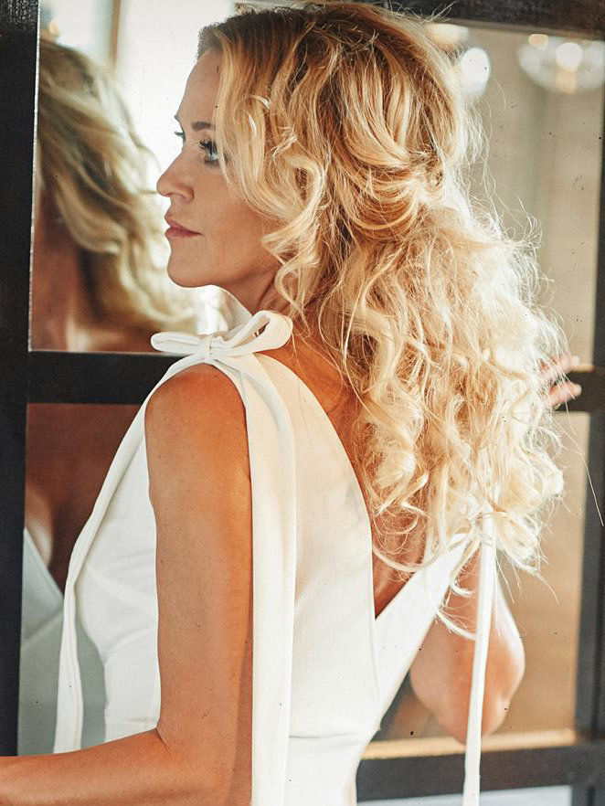 Bridal Makeup and Hair on Merete