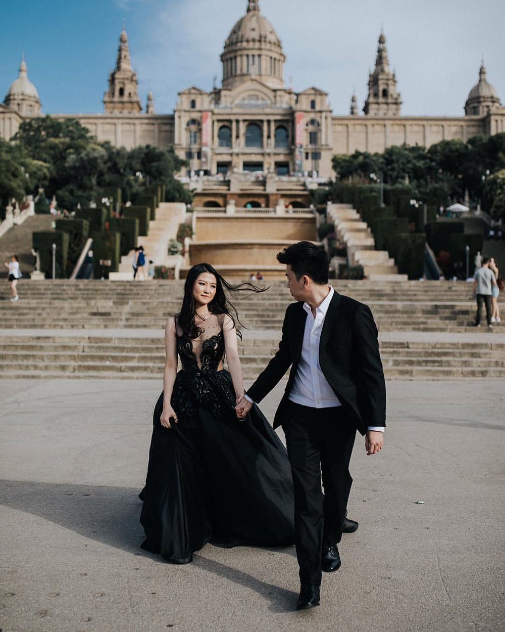 Couple photoshoot in Barcelona