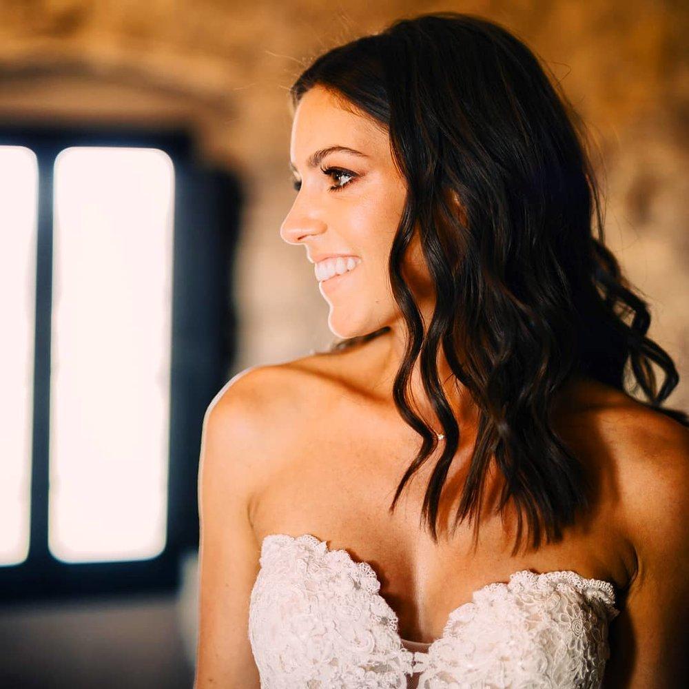 Bride Jessica, Aug 18´