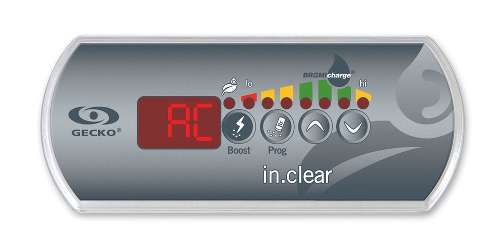 in.clear keypad AC message
