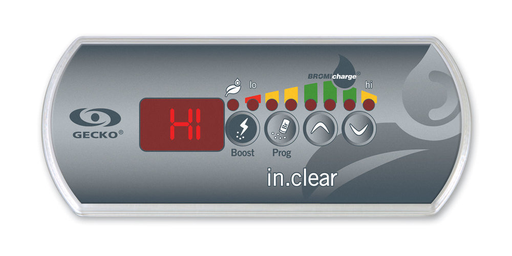in.clear keypad HI message