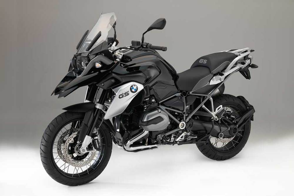 Model year 2016 will see the addition of the R1200GS Triple Black included in BMW Motorrad's line up. The blacked-out limited edition R1200GS is now available for order. BMW Motorrad is producing the R1200GS Triple Black in response to the wishes expressed by many customers and has now decided to offer the world's top-selling motorcycle in a virtually all-black finish.