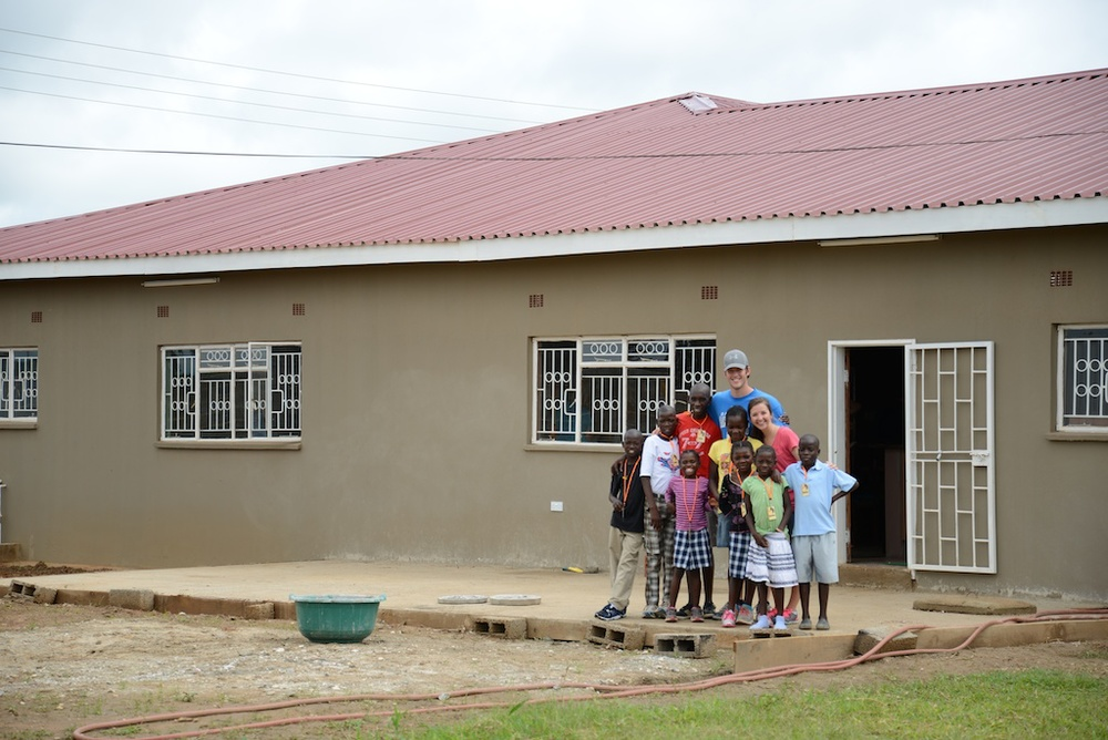The first 8 kids in Arise Home, January of 2013.