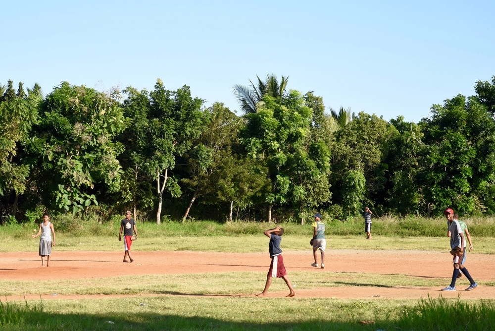 The real deal: Sandlot baseball in the Dominican Republic.
