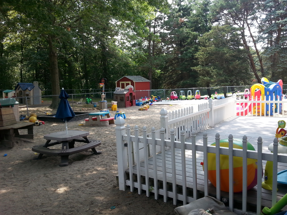 Our Infant/Toddler Playground