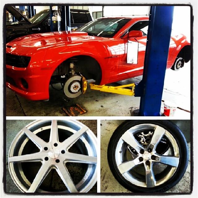 #DeviateAutosport #713777TIRE #rohanawheels @rohanawheels #Rohana #wheelporn wheels getting upgraded in this #SS
