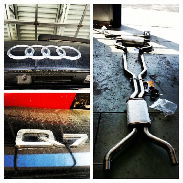 #DeviateAutosport #713777TIRE #Audi #Q7 #magnaflow #Catback