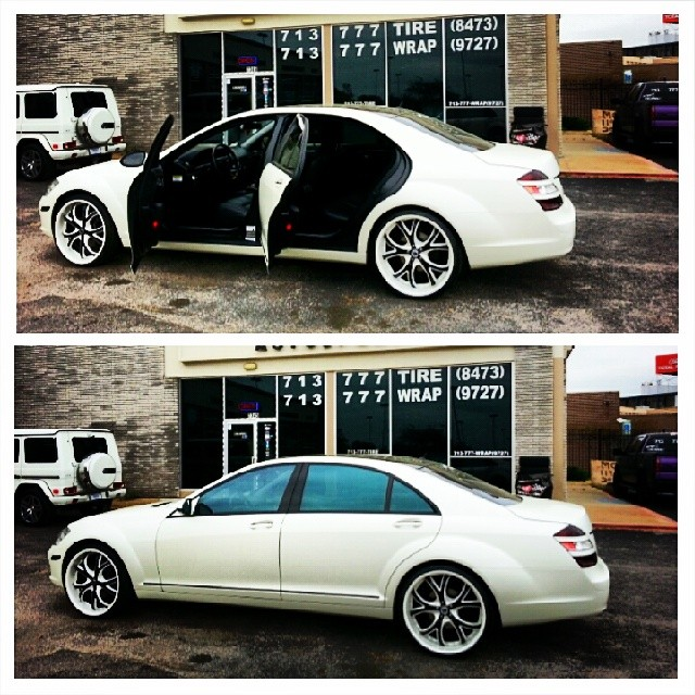 #DeviateAutosport #713777WRAP #wrappingthebestfixingtherest #paintisdead #flyprivateinpublic #wearethemostphenomenalartistsofalltime #Wrapbot #Bestwrapperalive #Bestwrappersalive #mercedesbenz #Sclass #Satin #pearl #white #doorjams #Blacklist @asantiwheels #dointhangs #Dailywork #workflow #Million #Colormatched #Wheels #Badboy #layednotsprayed #custom #Pirelli