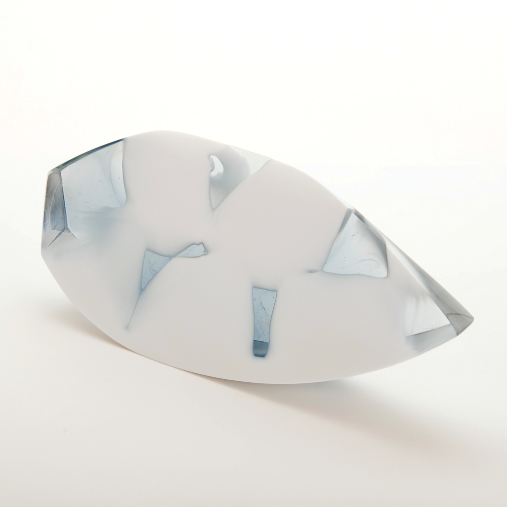 Wedge Cast Milk Glass, Dr. Jessamy Kelly