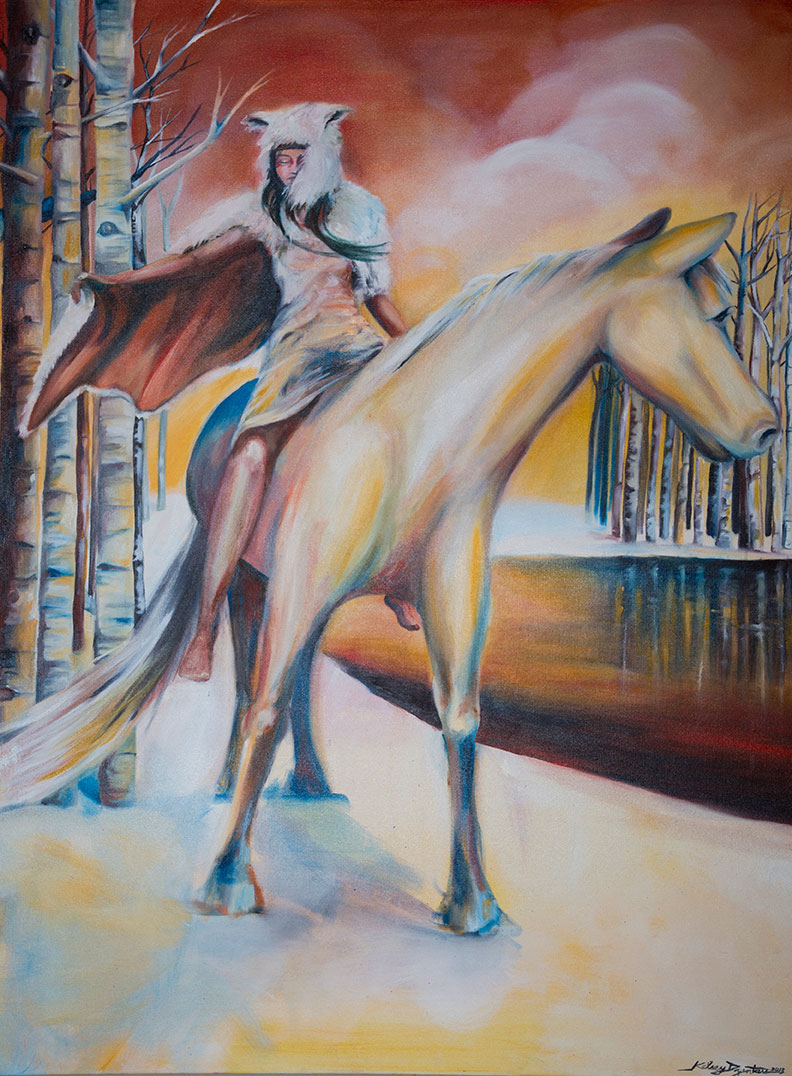 """Vagabond"" oil on canvas, 36x48 2013 - NFS"