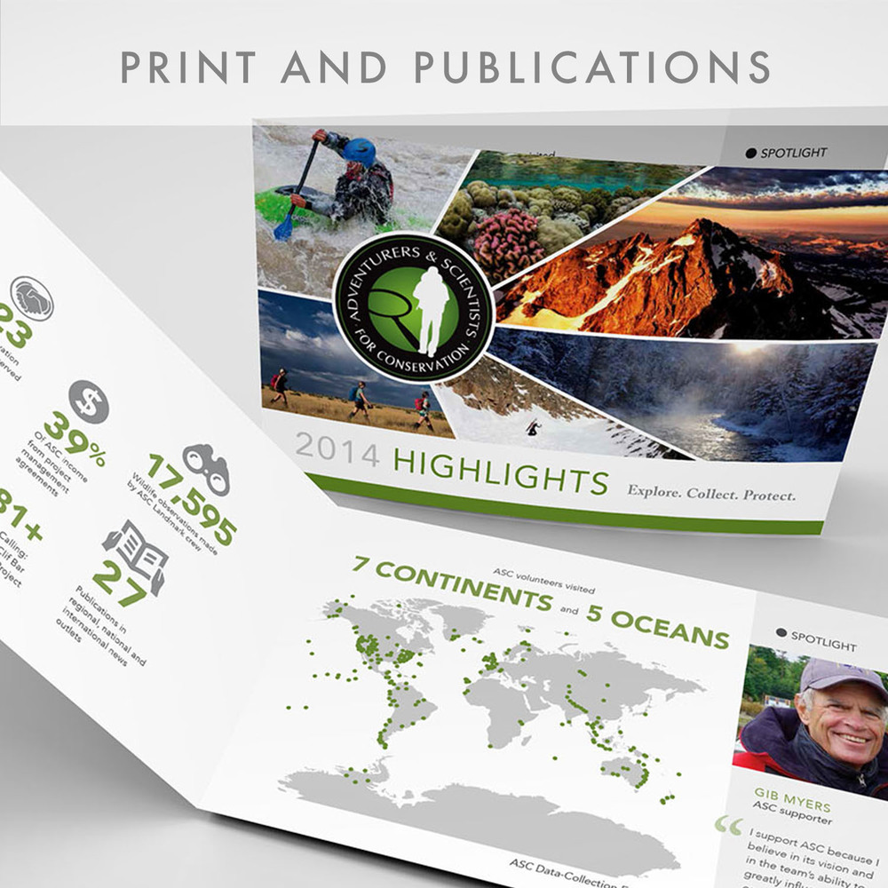 Print and Publications