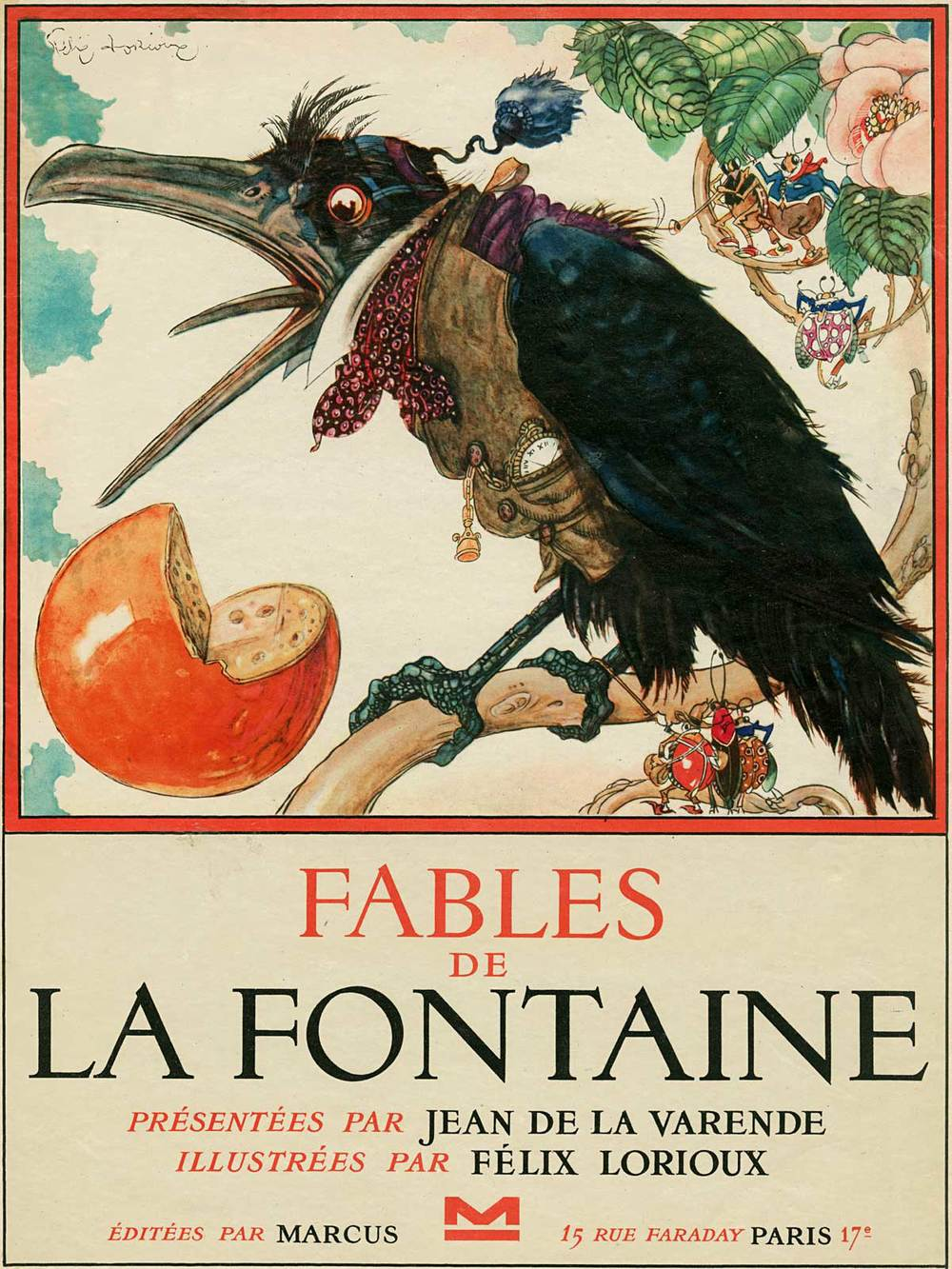 Fables illustrated by Félix Lorioux. (EmptyMansionsBook.com)