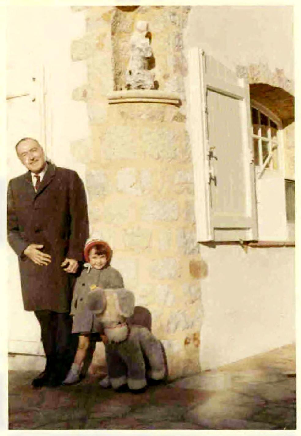 Etienne, her fiancé
