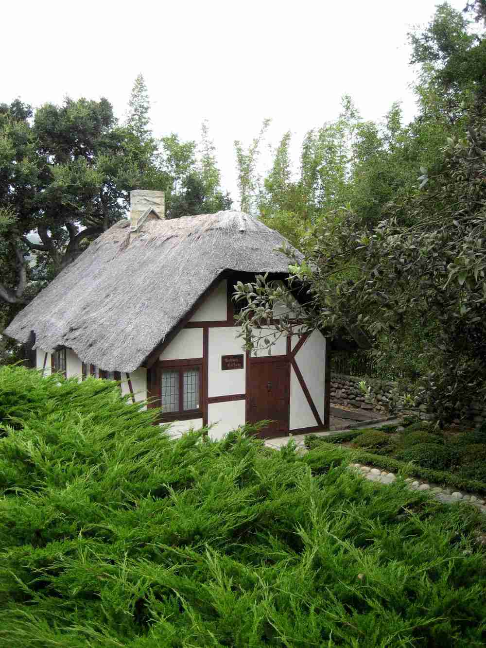 Andrée's cottage at Bellosguardo