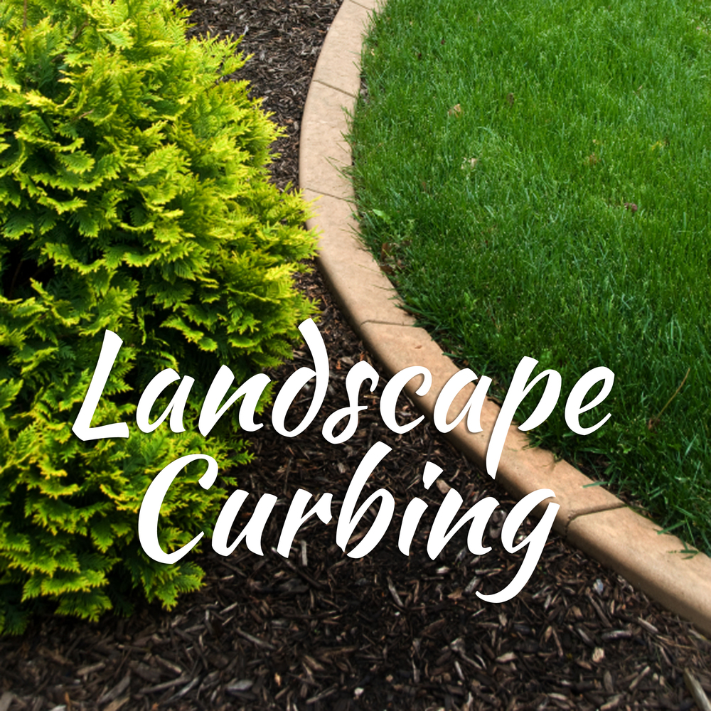 Our unique landscape curbing will add a finished beauty to your landscape.