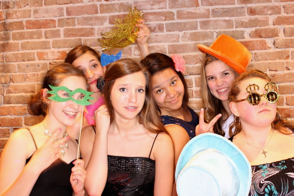 Photo Booth picture from an event at 425 Downtown located next to our office in Springfield MO!