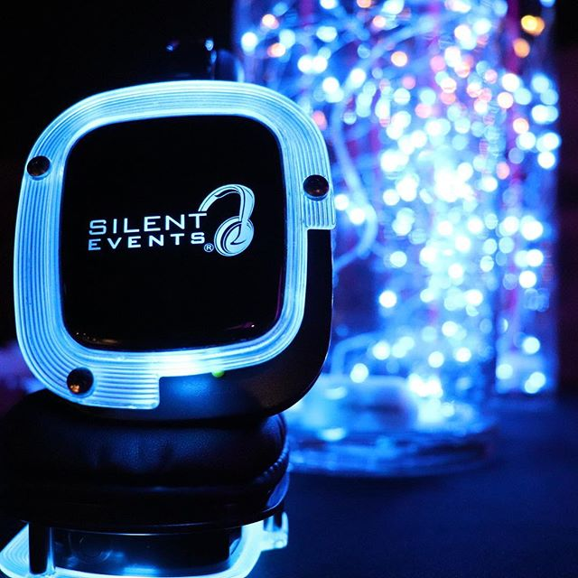 Sometimes when we party, you can't hear us. #SilentDisco #SparkEvents