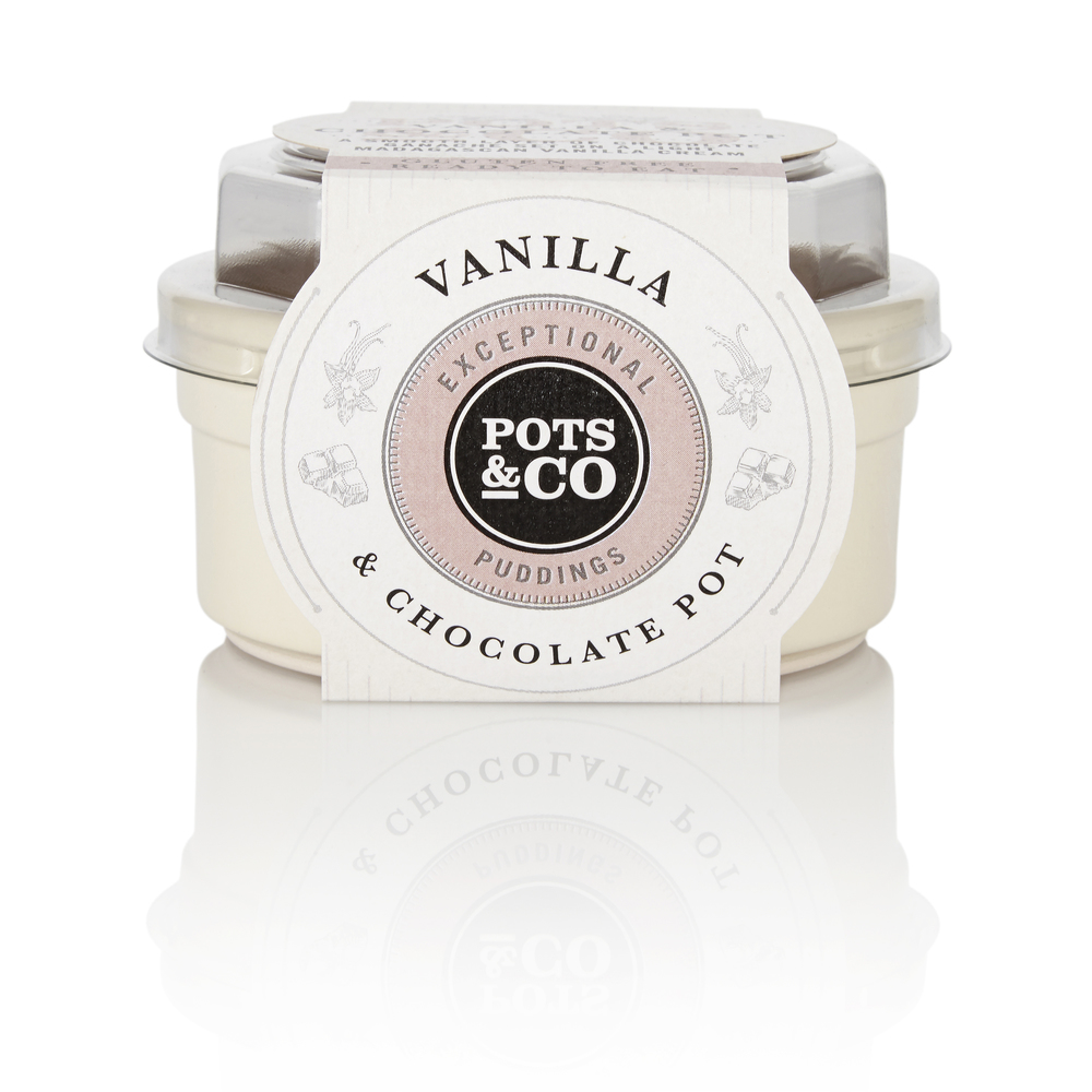 Vanilla & Chocolate Pot