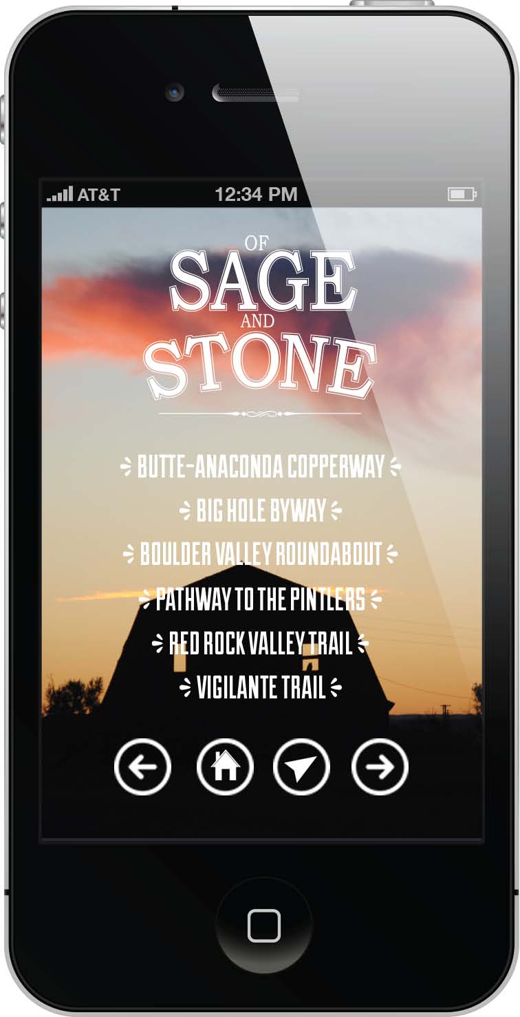 On iTunes, search for Of Sage & Stone to download the app to your iPhone.